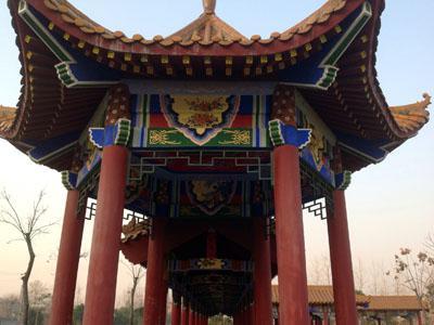 荆州市大沙湖镇公园仿古亭